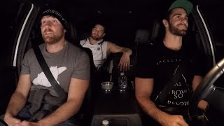 The Shield reunite on the road on WWE Ride Along (WWE Network Exclusive)