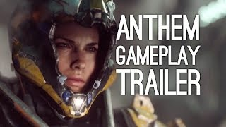 Anthem Gameplay Reveal Trailer - Bioware's Destiny Game Xbox One X Gameplay