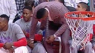 Dwight Howard Grabs Teammates Crotch
