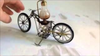 Dampfmaschine Dampfmotorrad / Steam Engine Steam Motorbike