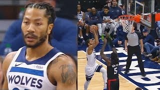 Derrick Rose Gets Revenge On The NBA After All-Star Snub By Destroying Clippers With Craziest Moves!