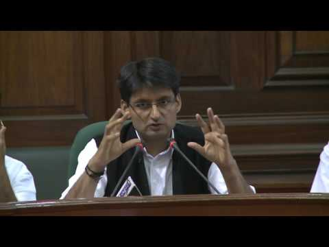AICC Press Briefing By Deepender Singh Hooda at Parliament House, March 21, 2017