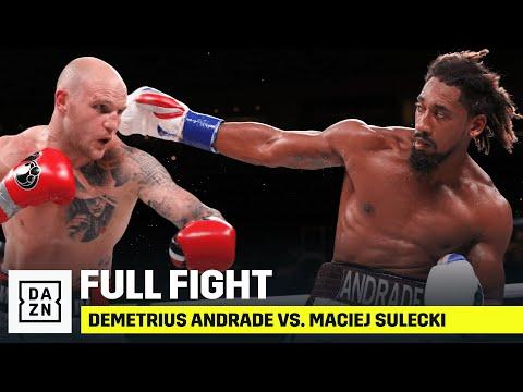 FULL FIGHT Demetrius Andrade vs. Maciej Sulecki