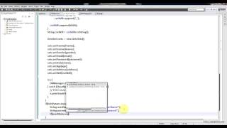 5.Creating Login Form and Authenticate users - JSP Servlet Project For Beginners.avi