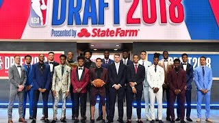 2018 NBA Draft - Player Introductions