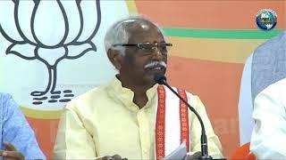 BJP MP & Former Union Minister Bandaru Dattatraya Addresses Media at BJP State Office| Overseas News