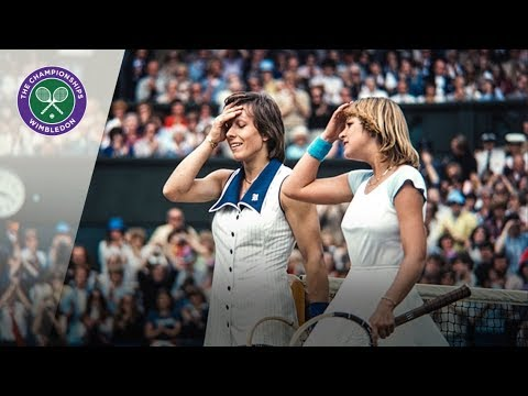Martina Navratilova v Chris Evert: Wimbledon Final 1978 (Extended Highlights)