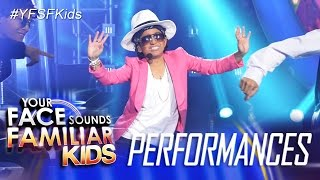 Your Face Sounds Familiar Kids: Sam Shoaf as Bruno Mars - Uptown Funk