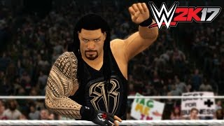 WWE 2K17 - Xbox 360 / Ps3 Gameplay Extreme Rules Roman Reigns vs Triple H