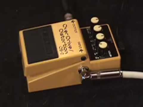 Boss OS 2 Disortion Overdrive Guitar Pedal Demo