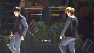 [fancam]131122 MAMA in Hong Kong Exo Kai Luhan Dance cut (Time Control)