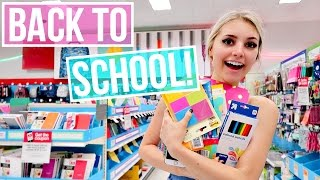 SHOPPING FOR BACK TO SCHOOL VIDEOS!