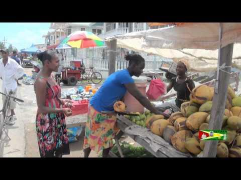 Coconut Woman Guyana Style Rose Hall Town Berbice.