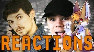 Reaction | Scott Cawthon vs Toby Fox. FNAF vs Undertale Finale. JMB Rap Battles Season 3.