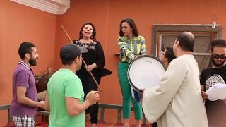 """داليا البحيري للمخرج """"بحب توجيهاتك """"😂 كواليس تصوير مسلسل يوميات زوجة مفروسة  - Youmyat Zoga Mafrosa"""