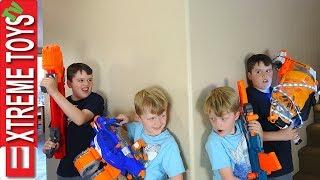 Sneak Attack Squad Nerf Battle Vs. Wild Clones!