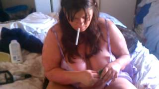 Milf smoking 6