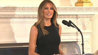 A Look Back at Melania Trump's Year as First Lady