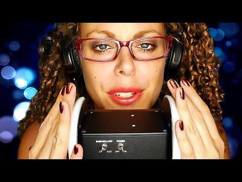 Yummy Binaural ASMR Ear Massage & Relaxing Ear to Ear Whisper 3Dio – Remastered 3D Audio