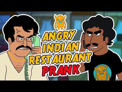 Angry Indian Restaurant Prank Call (ft. Rakesh and The Police)