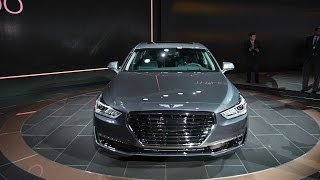 Genesis G90: The first car from Hyundai's new luxury brand