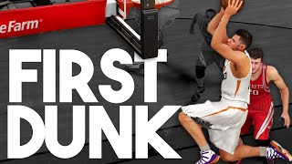 NBA 2K16 My Career My First Dunk! Breakout Game