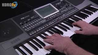 KORG TV / Pa900 Entertainer Workstation Demo
