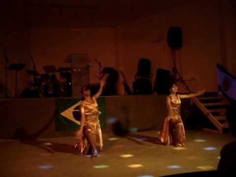 Regis Danese Tuas Primicias coreografia gospel