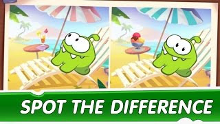 Spot the Difference Ep. 3 - Om Nom Stories: The Magic Lamp