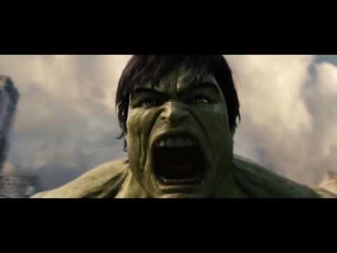 Hulk - Synthesis beautiful fight  |  Hulk 2003 + 2008