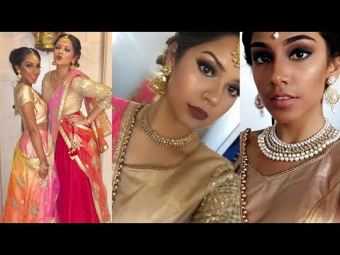 Xxx Mp4 INDIAN WEDDING GET READY WITH ME HEAVY MAKEUP LOOK MEET MY COUSIN Jazz 3gp Sex