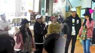 Running Man Filming - Song Ji Hyo, Lee Sang Yeob and Haha Team up again with Ji Suk Jin