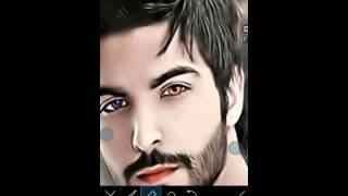 تغير لون العين باستخدام برنامج picsart في الايفون