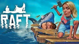 FLOAT OR DIE - Raft Gameplay Part 1