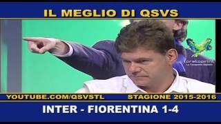 QSVS - I GOL DI INTER-FIORENTINA 1-4  - TELELOMBARDIA / TOP CALCIO 24