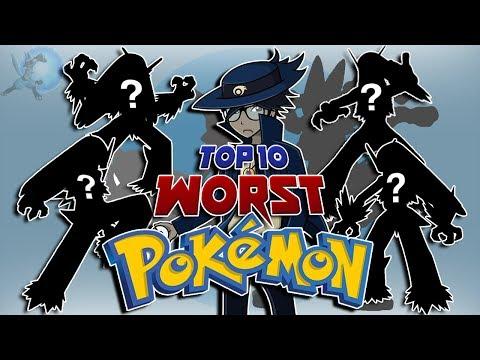 My Top 10 Least Favorite Pokémon