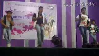 temper dance show by jntu pulivendula eee