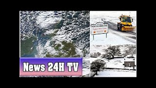 Snow to hit britain as weather warnings are issued across the country | News 24H TV