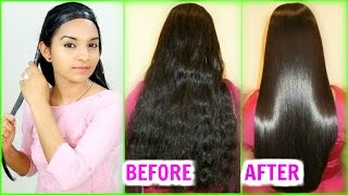 Straighten Hair Naturally At Home - Magical Hair Mask | INSTANT RESULTS | PrettyPriyaTV