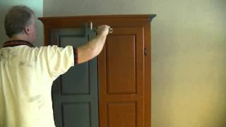 A Good Way To Paint A Wardrobe / Armoire