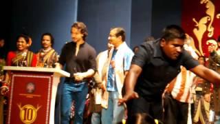 Tiger Shroff sambal puri odia dance at nuakhai bhetghat mumbai 2016