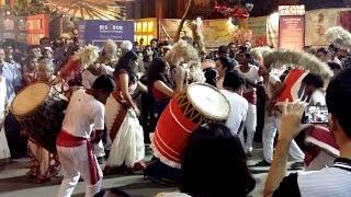 images Durga Puja Girls Dance To The Rhythm Of The Dhak At Samaj Sevi