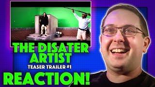 REACTION! The Disaster Artist Teaser Trailer #1 - James Franco Movie 2017