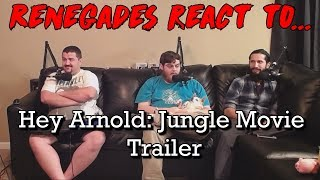 Renegades React to... Hey Arnold: The Jungle Movie - SDCC 2017 Trailer