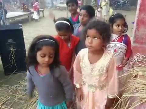 Ghazipur Cute Village Girls Dance..2017