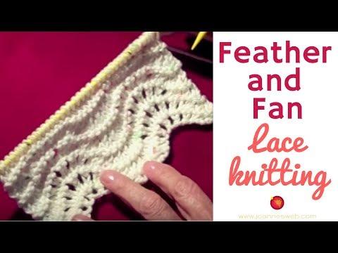 Feather and Fan Stitch Lace Pattern