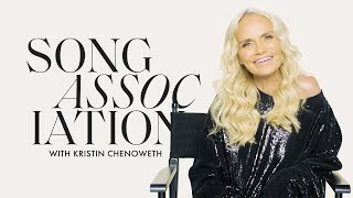 Kristin Chenoweth Sings Whitney Houston and Cyndi Lauper in a Game of Song Association | ELLE