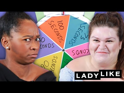 We Tried Putting On Full Faces Of Makeup In Seconds • Beauty Roulette