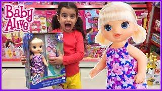 Baby Alive Aldık YENİ Oyuncak Dondurma Yiyor | Oyuncak Bebek | Rüya