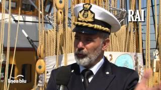Marina Militare - Linea blu Cartoline da Nave Vespucci - Civitavecchia
